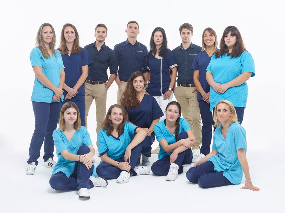 Equipe de la clinique vétérinaire Ric et Rac